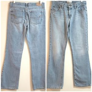American Eagle 'Faded' Jeans, Bootcut, Sz 6 Reg